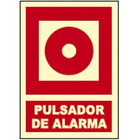 señalización de alarma